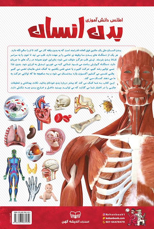 اطلس دانشآموزی بدن انسان